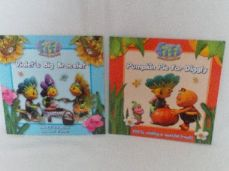 Adorable Set 3 of Two 'Fifi & the Flowertots' Glossy Bedtime Story Books